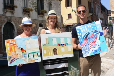 Drawing and painting lessons in Venice